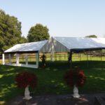 Stevige buizenframe tent