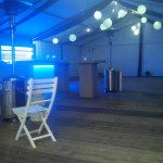 Partytent inrichting