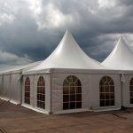 Luxe alu-constructie pagode tent