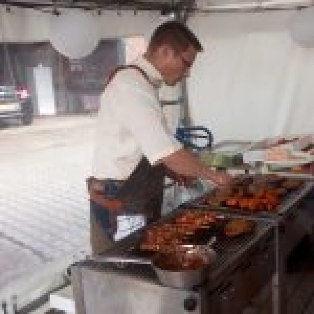 Partytent catering